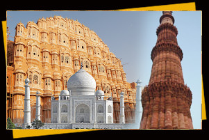 Golden Triangle tour with 3 most visited cities Delhi/Agra/Jaipur for 6 Days / 5 Nights at $1,115 from Sita Tour