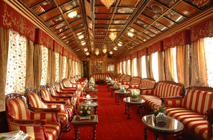 luxury trains in india Rajasthan tourism development corporation along with the indian railways, introduced the first luxury train of india in 1982, called the palace on wheelsthe train is inspired by the personal carriages of former maharajas, nizams and viceroys of india and takes you to the past ages of indian royalty.