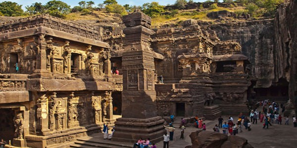 Golden Triangle With Caves & Beaches Tour 14 Days Package By I Discover India