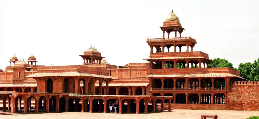 Panch Mahal, Fatehpur-Sikri